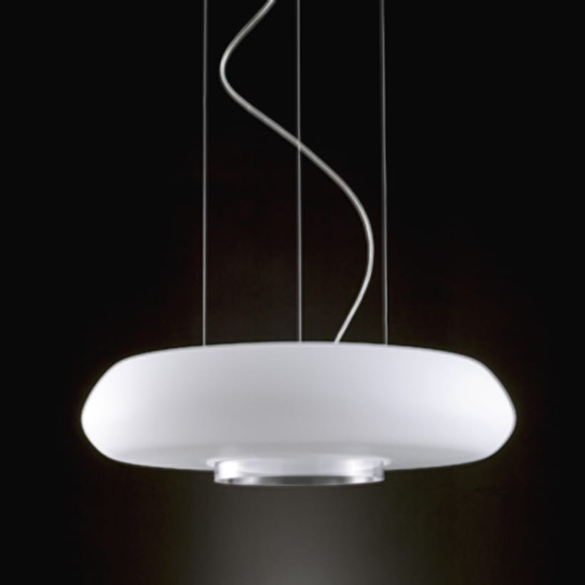 'aura' pendant with led lights. for deo, valencia. 0