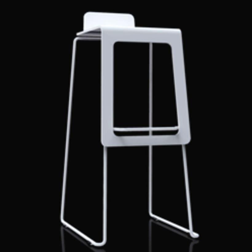 'karina' bar stool. for bdm+, valencia. 0