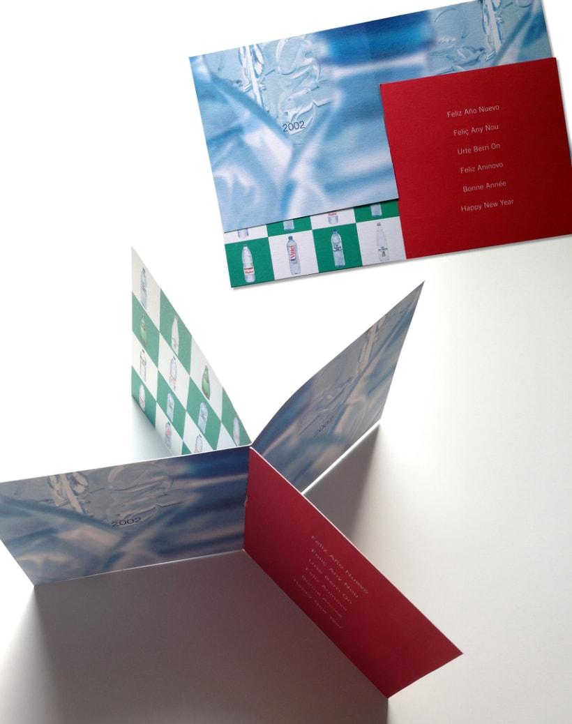 Navidad Aquarel Nestlé - Tarjeta de Felicitación  -1