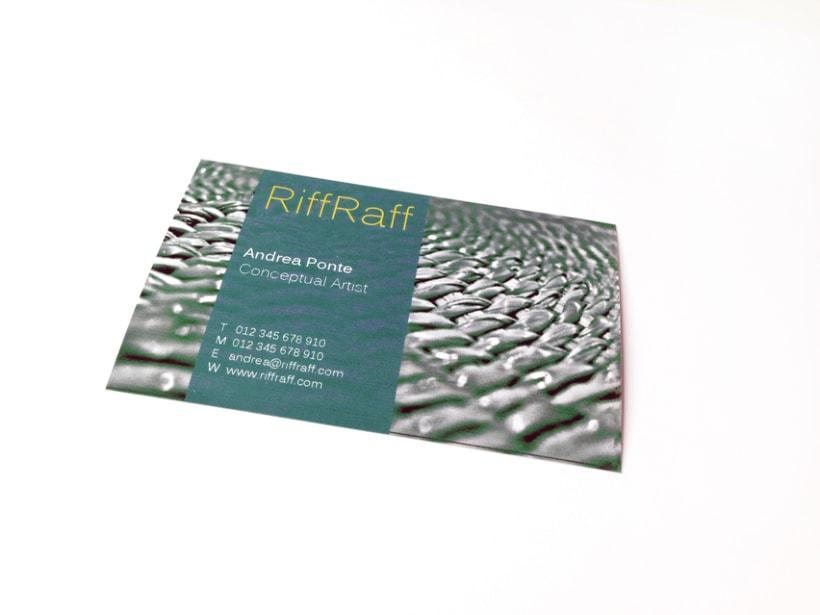 Diseño de tarjetas de visita (plantillas) 2