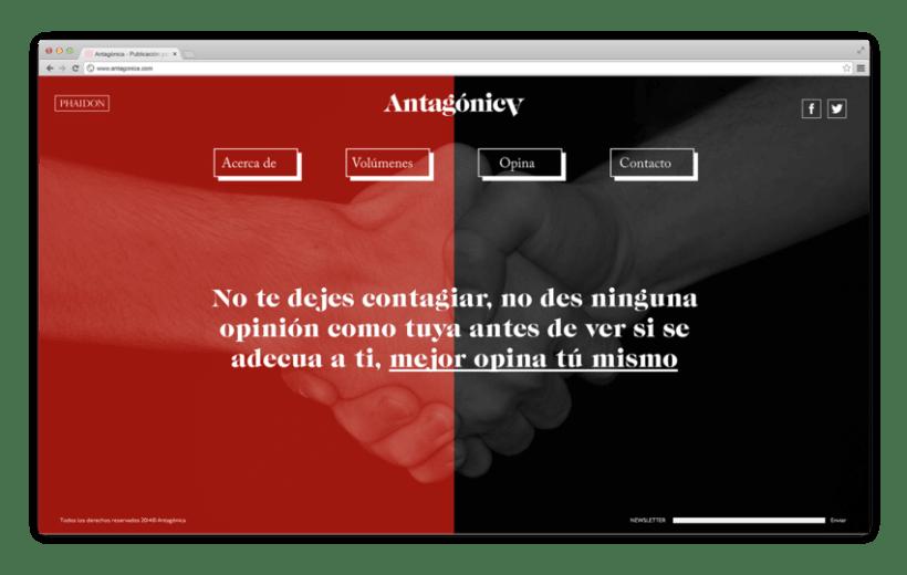 Antagónica 13