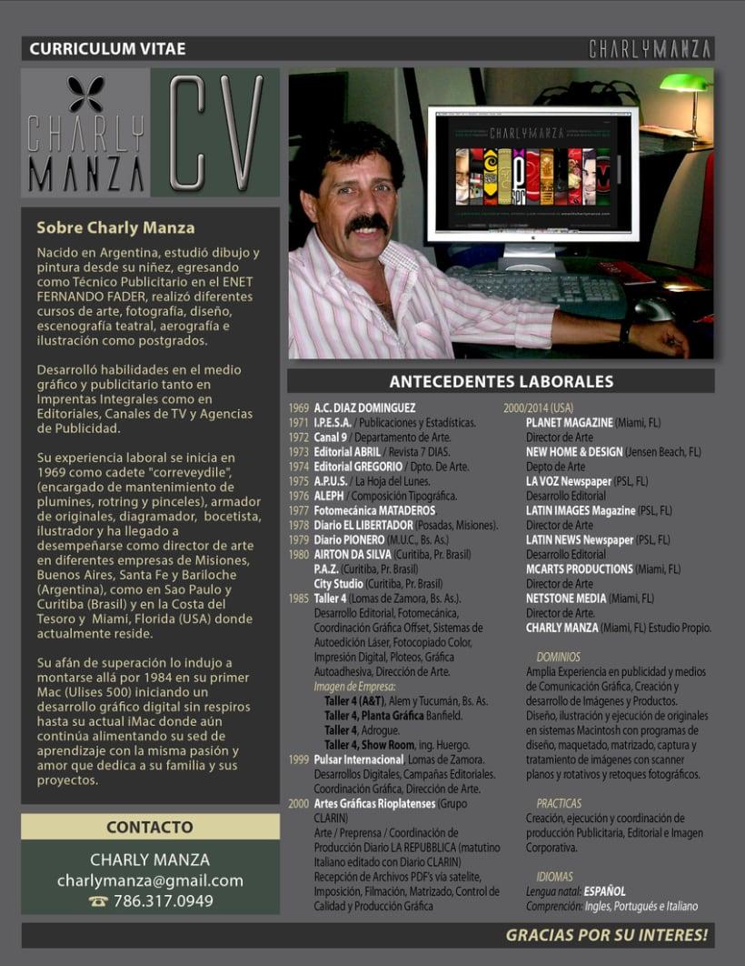 CV de Charly Manza 0