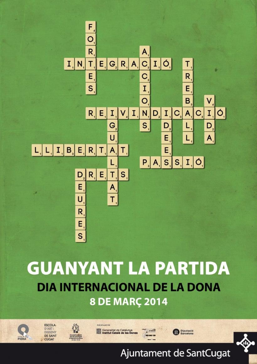 Cartell Dia Internacional de la Dona (2014) 0