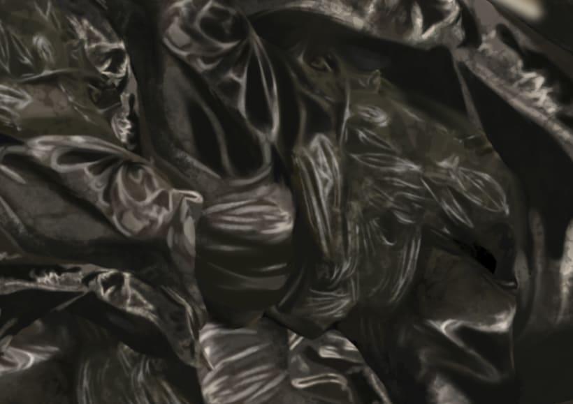 Presente - Pintura digital realizada con los dedos en el Ipad  5