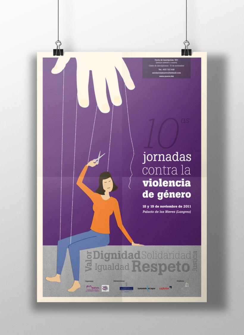 10ª Jornadas contra la violencia de género -1