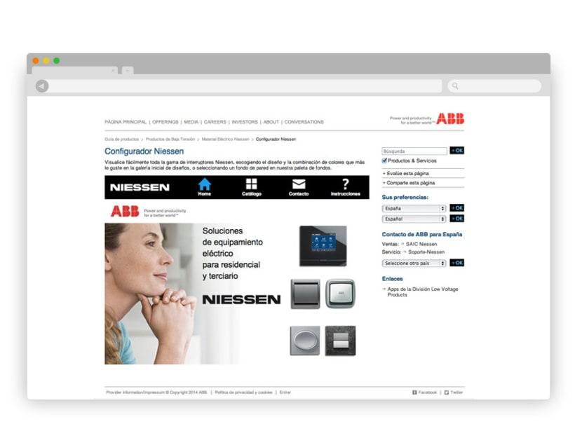 App Interruptores ABB/Niessen 8