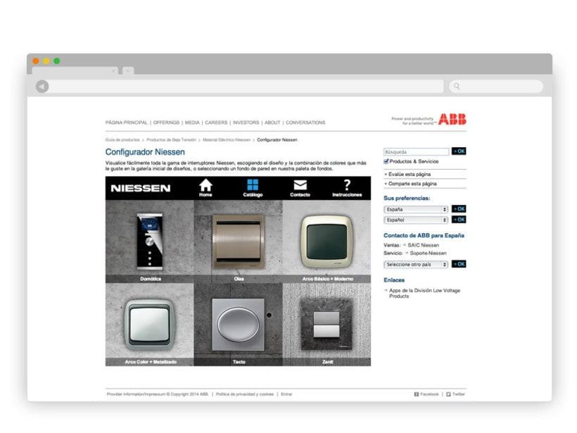 App Interruptores ABB/Niessen 9
