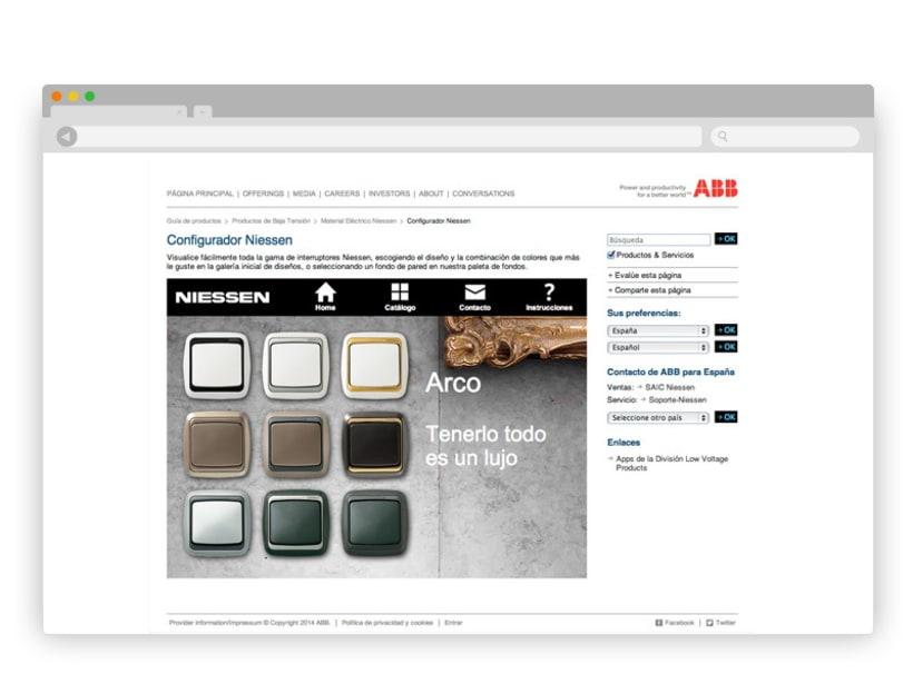 App Interruptores ABB/Niessen 10