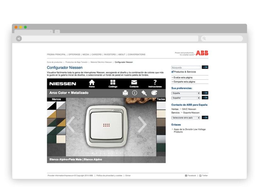 App Interruptores ABB/Niessen 11