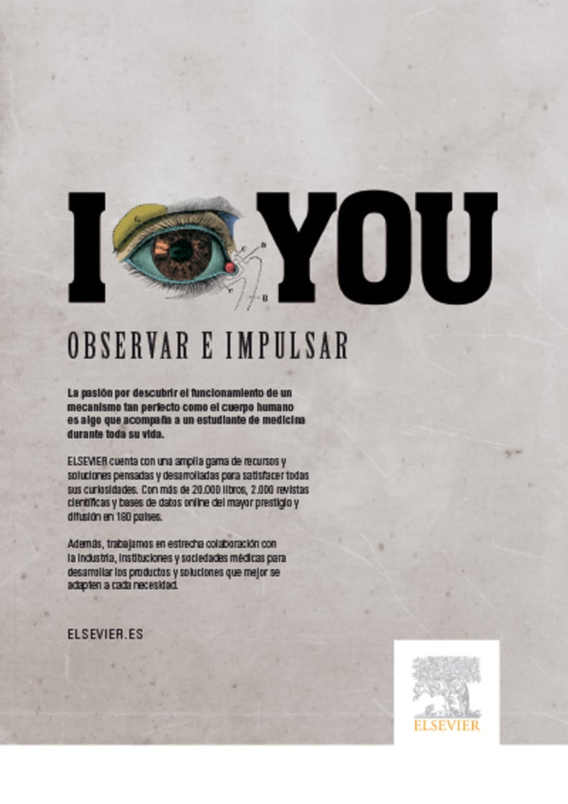 Elsevier. Campaña de fidelización. 1