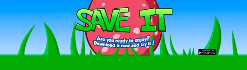 Save IT Videojuego Disponible en Google Play 1