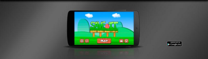 Save IT Videojuego Disponible en Google Play 2