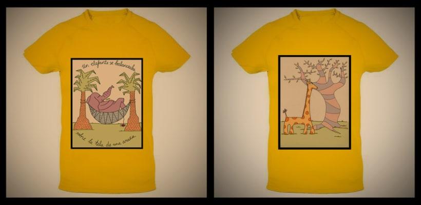 Ilustraciones para ropa de niño 2