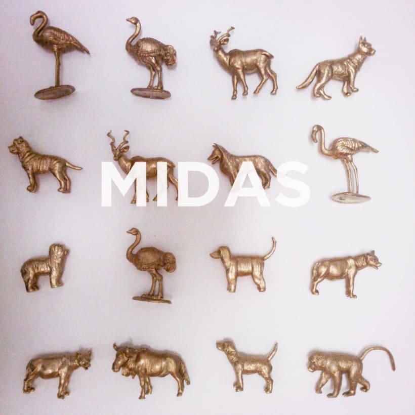 Midas. La transformación de la materia en oro -1