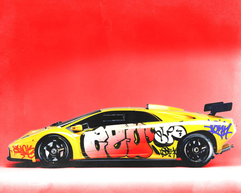 Graffiti Cars 3