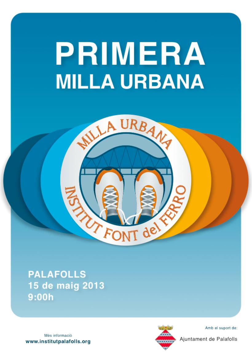 Cartell Milla Urbana de Palafolls -1