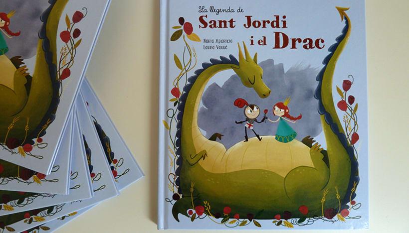La llegenda de Sant Jordi i el drac -1
