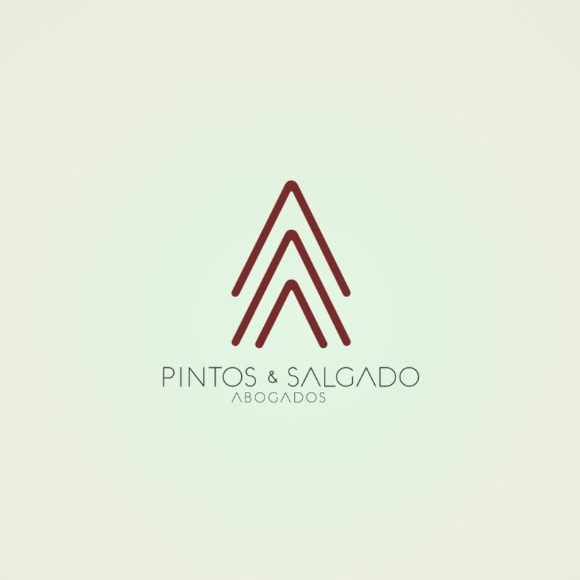 Logotipo y web Pintos & Salgado abogados 0