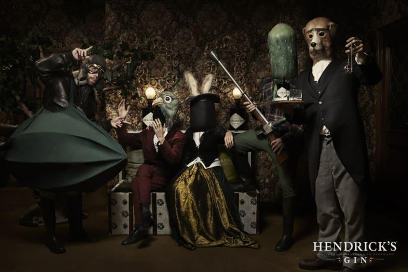 Hendrick's -1