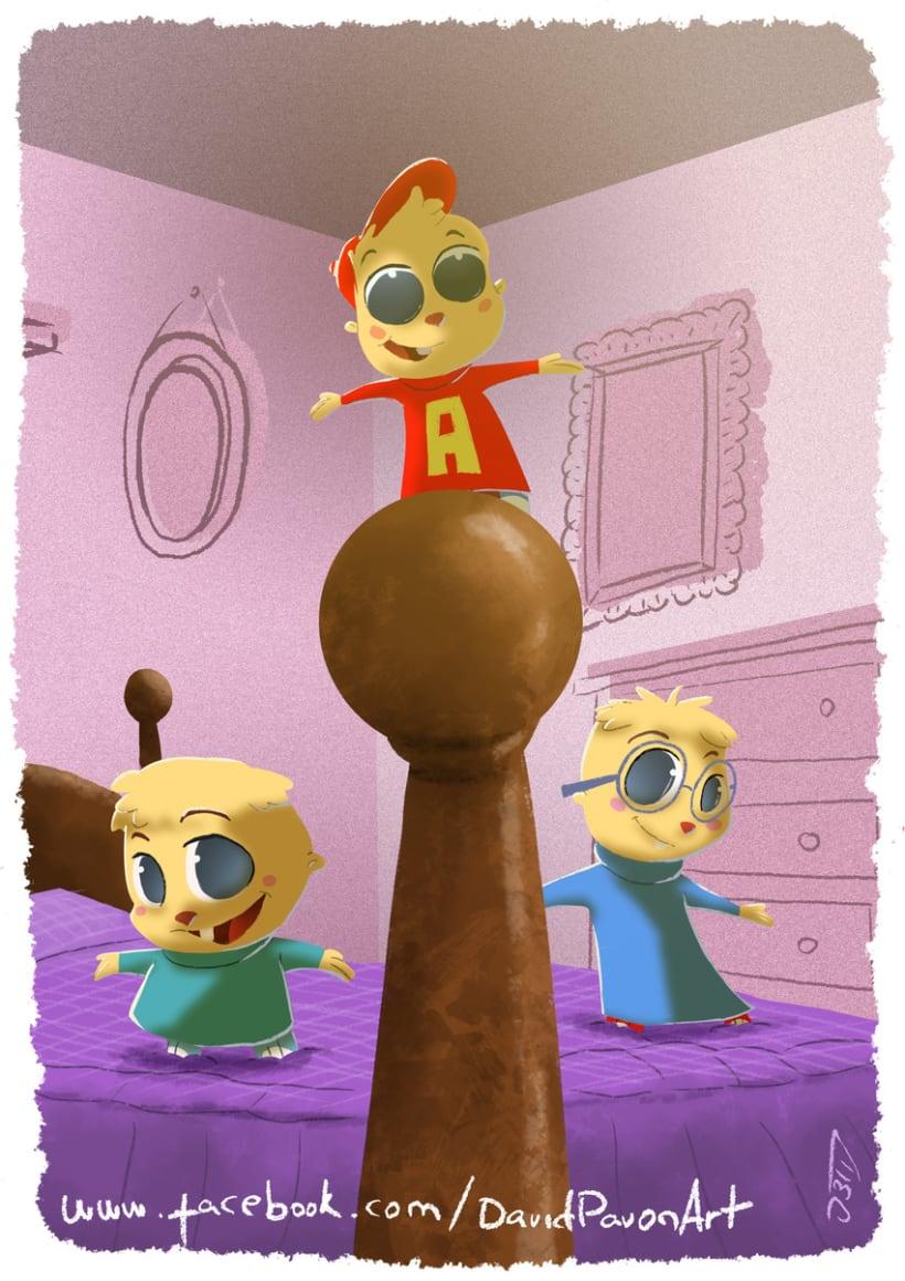 Alvin y las ardillas -1