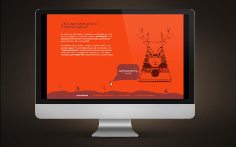 Diseño Web | Comunidad Chamánica 1