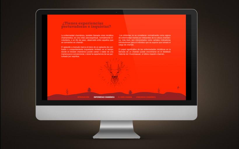 Diseño Web | Comunidad Chamánica 2