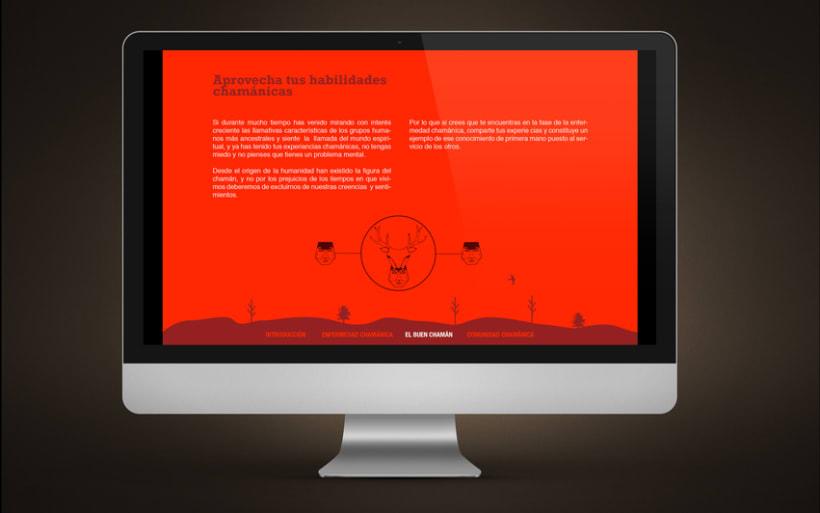 Diseño Web | Comunidad Chamánica 3