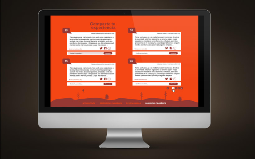 Diseño Web | Comunidad Chamánica 4