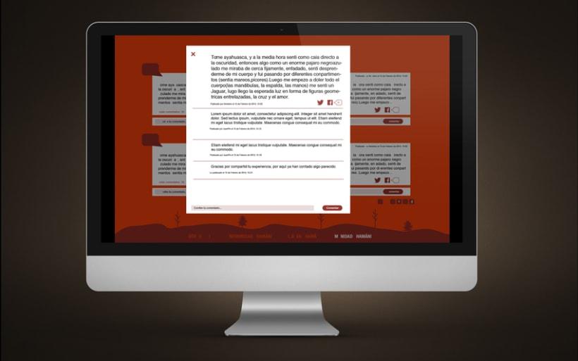 Diseño Web | Comunidad Chamánica 5