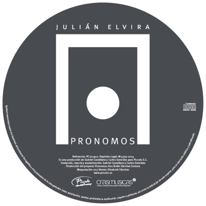 PRONOMOS - CD Música 6