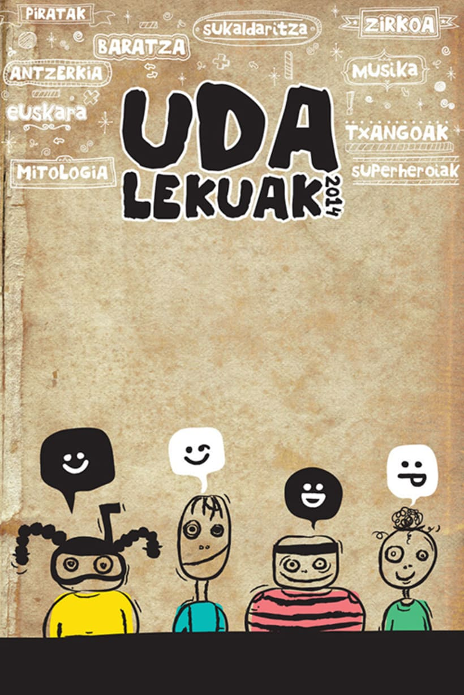Udalekuak 2014 - Publicidad para promocionar campamentos de verano 0