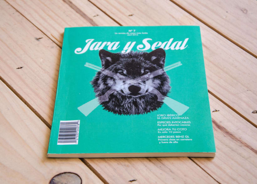 Rediseño:  'Jara y Sedal' 2
