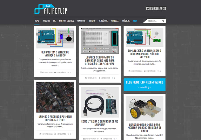 DIGITAL / FILIPEFLOP - Blog, newlsletter, fanpage, web, mail, etc 1