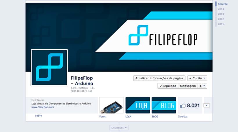 DIGITAL / FILIPEFLOP - Blog, newlsletter, fanpage, web, mail, etc 3