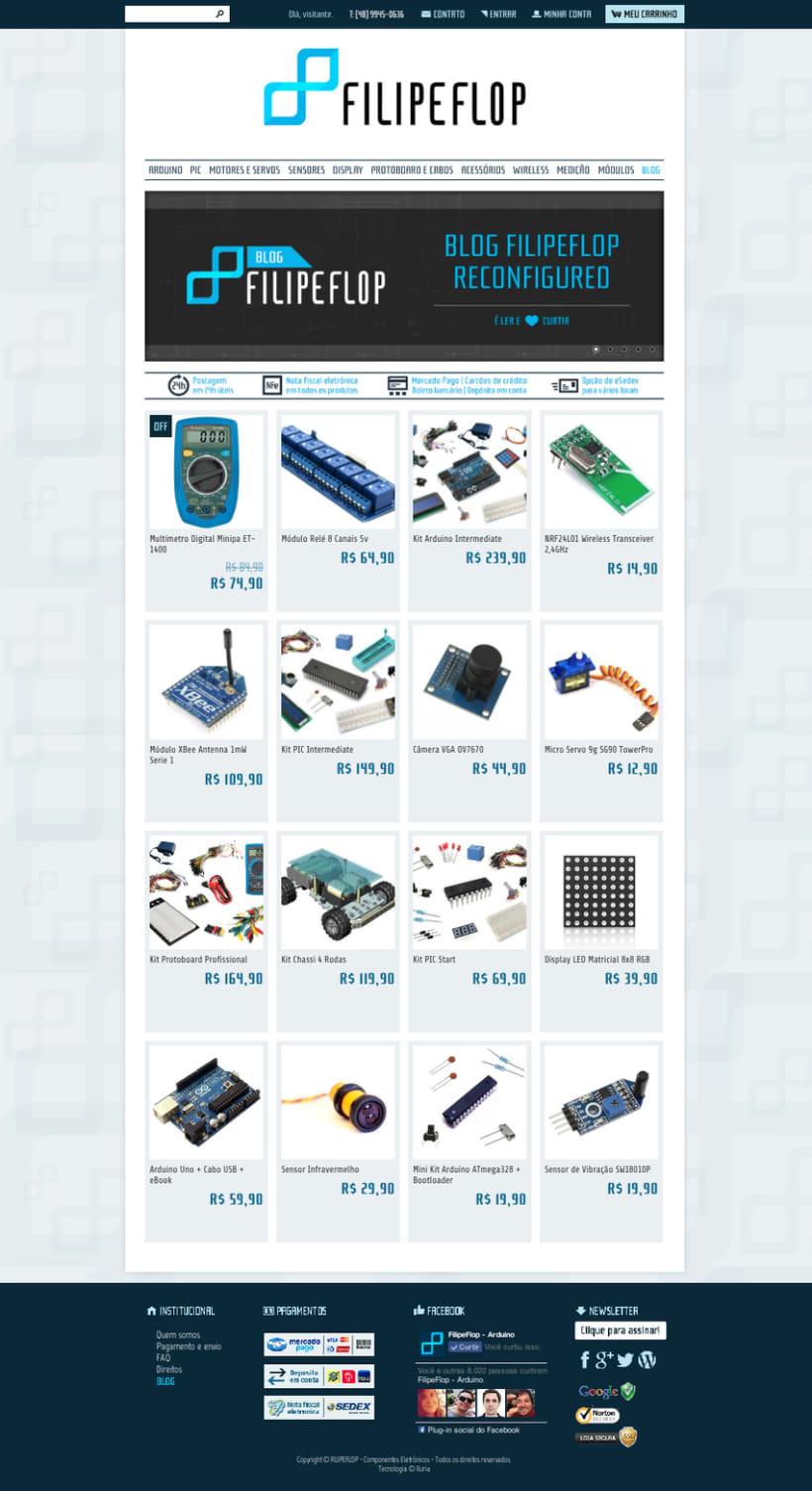 DIGITAL / FILIPEFLOP - Blog, newlsletter, fanpage, web, mail, etc 5