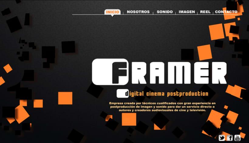 Diseño de web Framer 0