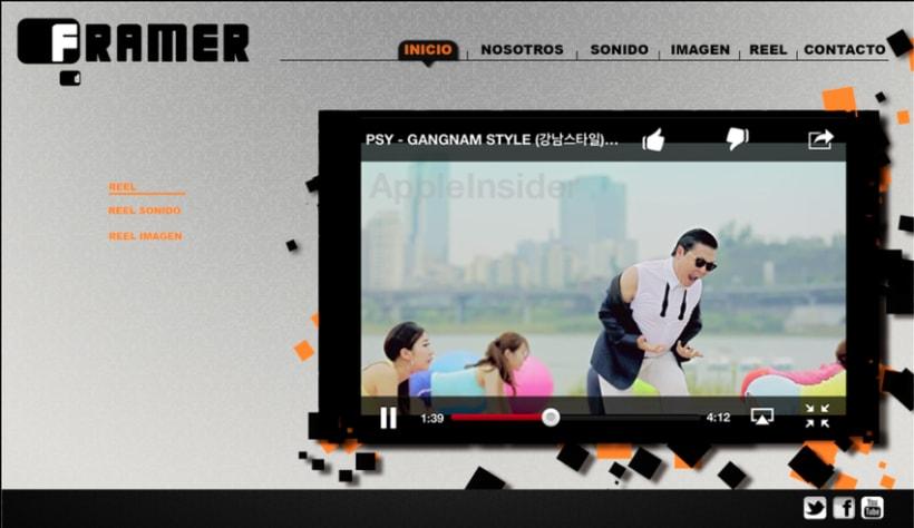 Diseño de web Framer 1