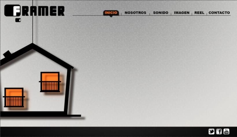 Diseño de web Framer 2