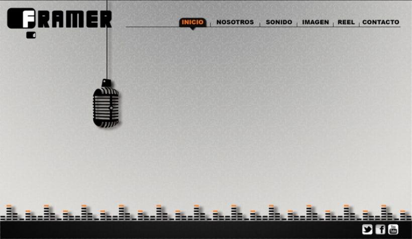 Diseño de web Framer 4