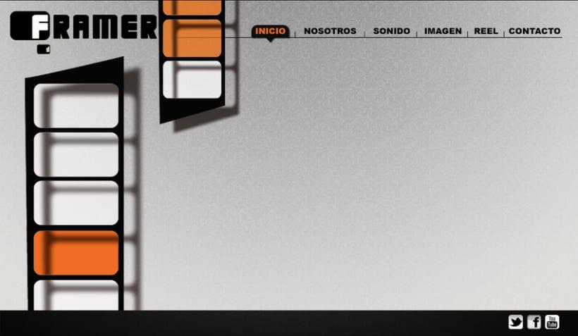 Diseño de web Framer 6