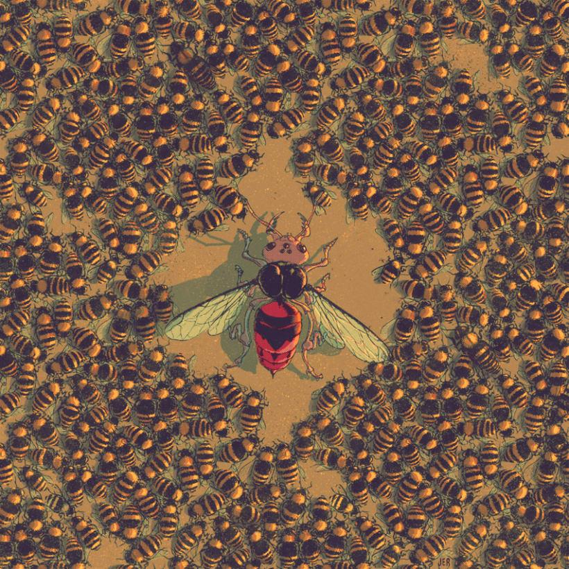 Insectos en guerra 0