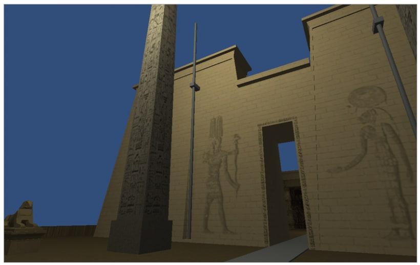 Video Juego Templo Egipcio en Unity 0