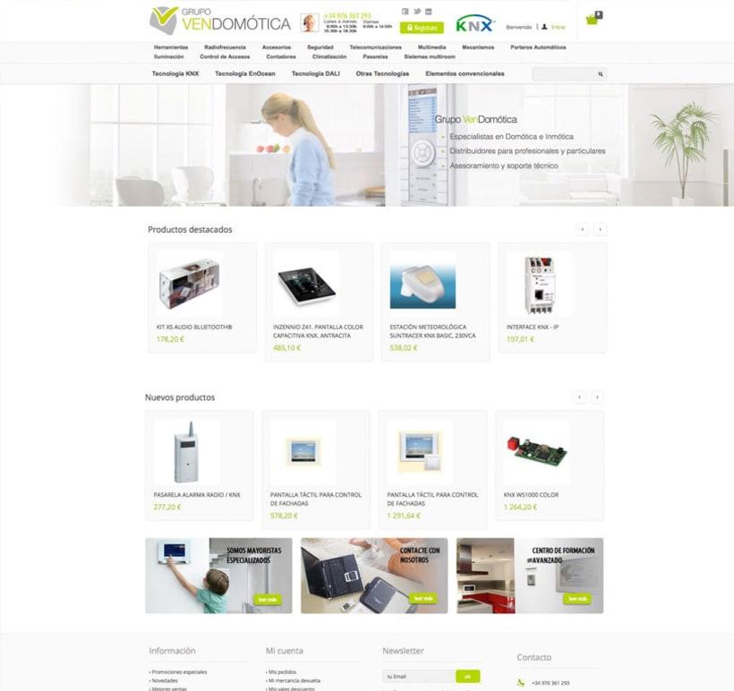 Vendomotica - Tienda online de domótica para particulares y empresas 0
