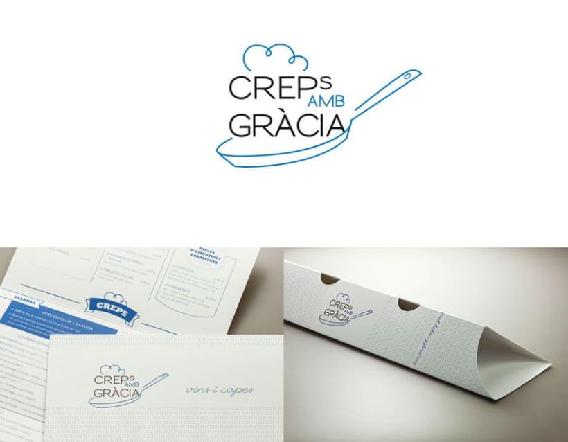 Creps amb Gràcia / corporate design 0
