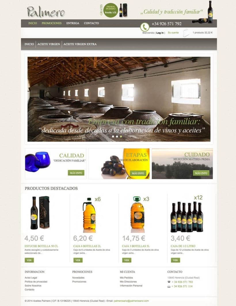 PalmeroSanz - Tienda Online de Aceites Virgen y Virgen Extra 0