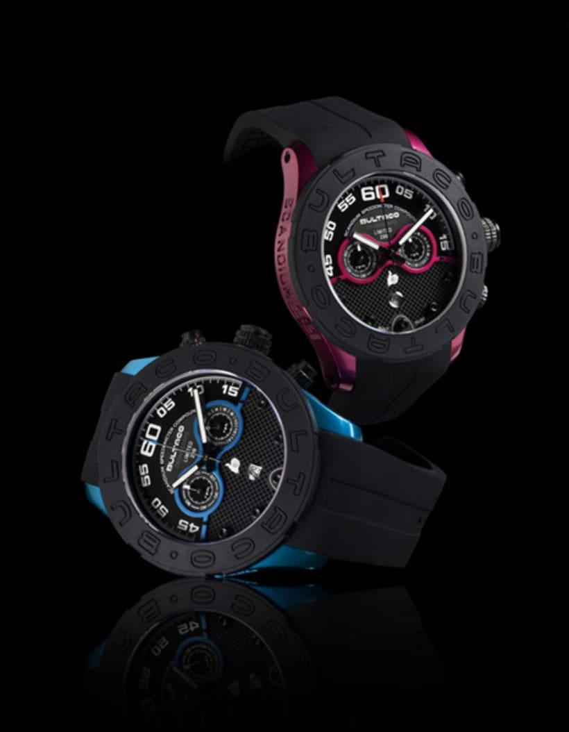 Bultaco Watches - publicidad y fotografía 0