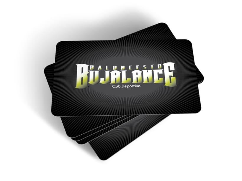 Tarjeta de socio | Baloncesto Bujalance C. D. 2