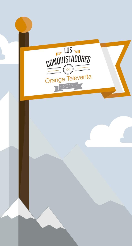 decoración Orange Televenta 0