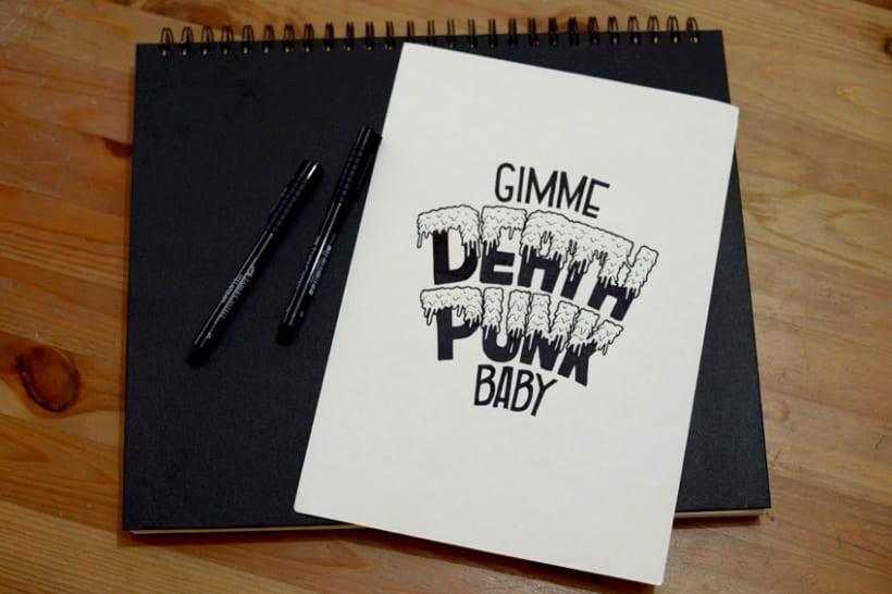 Handlettering & Illustration Lyrics I 2