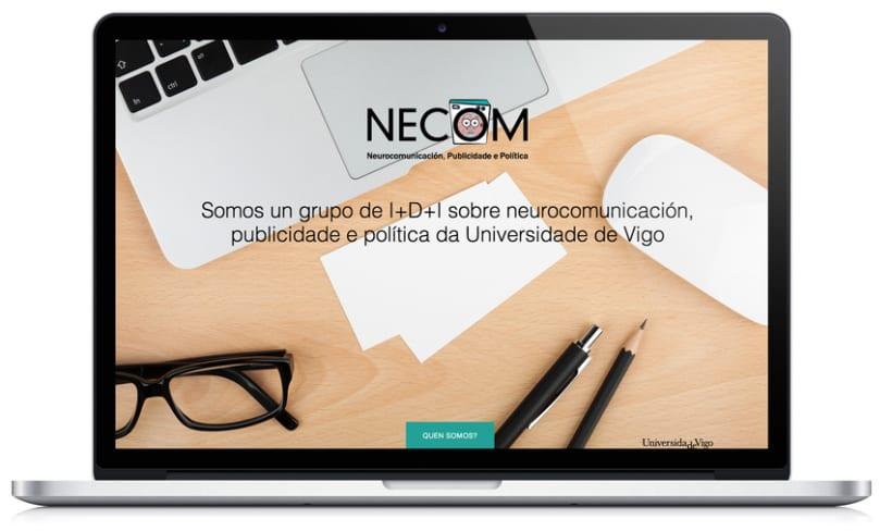 Web para el grupo NECOM 1